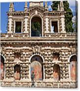 Grotesque Gallery In Real Alcazar Of Seville Canvas Print