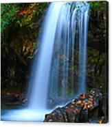 Grotto Falls Canvas Print