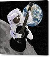 Ground Control to Major Tom Canvas Print