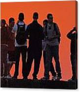 Group Sunrise Canvas Print