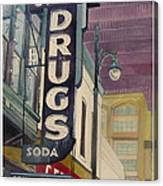 Grove Drug  Canvas Print