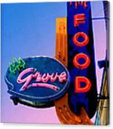 Grove Fine Food Canvas Print