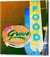 Grove Fine Food Var 3 Canvas Print