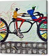 Grovin In The Savannah Breeze Canvas Print
