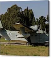 Grumman Hu-16 Albatros Of The Hellenic Canvas Print