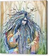 Grumpy Troll Canvas Print