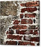 Grunge Brick Wall Canvas Print