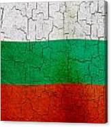 Grunge Bulgaria Flag Canvas Print
