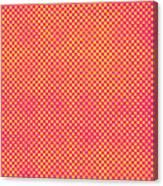 Grunge Halftone Background. Halftone Canvas Print