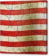Grunge Liberia Flag Canvas Print