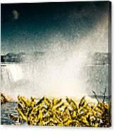 Grunge Niagara Canvas Print