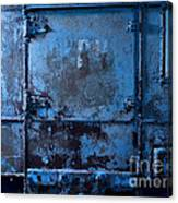 Grunge Old Metal Texture Canvas Print