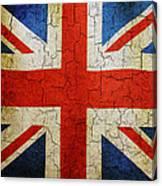Grunge Union Flag Canvas Print