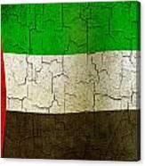 Grunge United Arab Emirates Flag Canvas Print