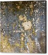 Grungy Cement Wall Canvas Print