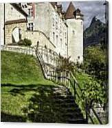 Gruyeres Castle Canvas Print