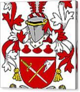 Grymes Coat Of Arms Irish Canvas Print