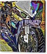 Gsxr Color Canvas Print