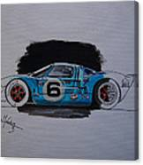 Gt40 Project Canvas Print