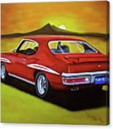 Gto 1971 Canvas Print