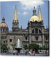 Guadalajara Cathedral Mexico Canvas Print