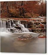 Guadalupe River Panorama Canvas Print