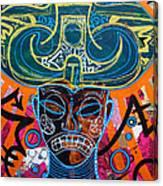 Guami Ke Ni Lord Of Earth And Water Canvas Print