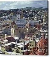 Guanajuato Skyline Mexico Canvas Print