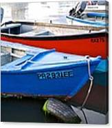 Guanica Skiffs Canvas Print