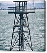 Guard Tower Alcatraz Canvas Print