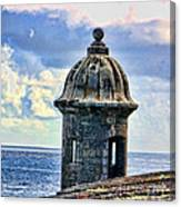 Guard Tower At El Morro Canvas Print