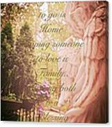 Guardian Angel Blessings Canvas Print
