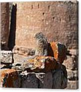 Guardian Of Hovenweep Canvas Print