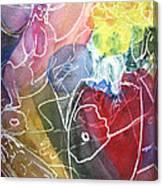 Guardian Of Light Canvas Print