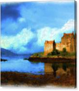 Guardian Of The Loch Canvas Print