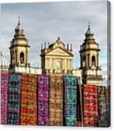 Guatemala City Cathedral Canvas Print