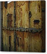 Guatemala Door 2 Canvas Print