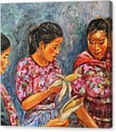 Guatemala Impression IIi Canvas Print