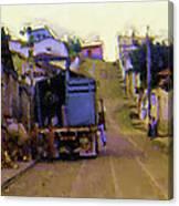 Guatemalan Street Truck Canvas Print