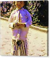 Guatemalan Little Boy Canvas Print