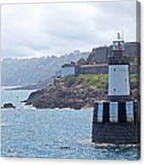 Guernsey Lighthouse Canvas Print
