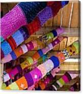 Guerrilla Knitting Canvas Print