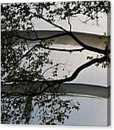 Guggenheim And Trees Canvas Print