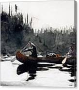 Guides Shooting Rapids Canvas Print