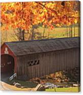 Guilford Vermont Covered Bridge Canvas Print