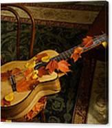 Guitar Autumn 1 Canvas Print
