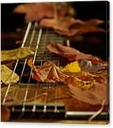 Guitar Autumn 2 Canvas Print