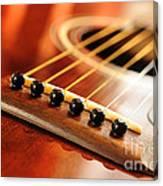 Guitar Bridge Canvas Print