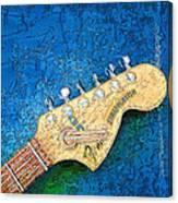 Guitar Head Canvas Print