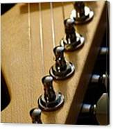 Guitar In Color Canvas Print